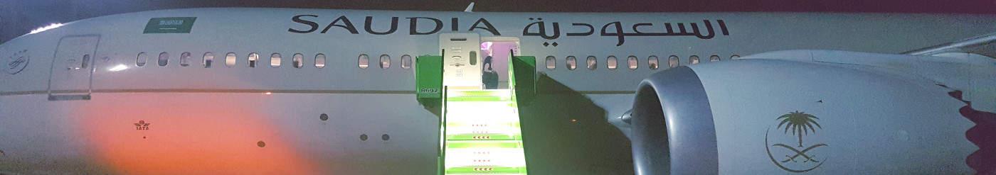 Business Class im Dreamliner von Saudia Airlines – günstige Angebote nach Jakarta, Mumbai, Johannesburg ab 480 Euro von Dubai, aus Europa ab 680 Euro