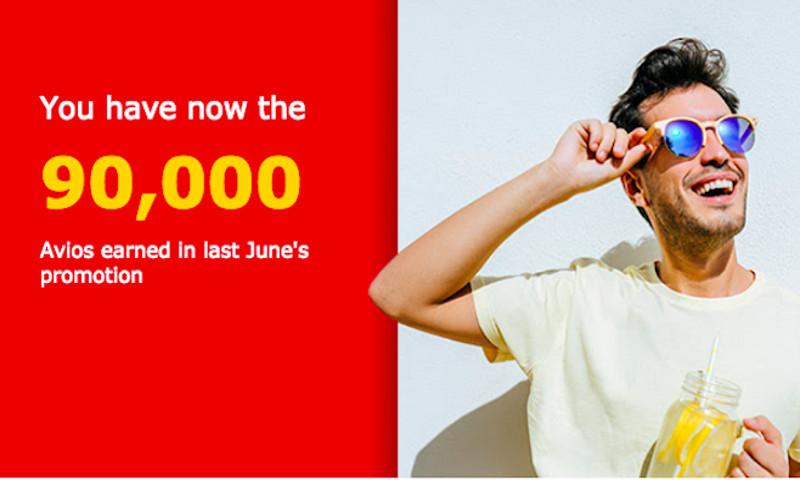 Iberia Plus 9000 Avios Promo im Juni 2018