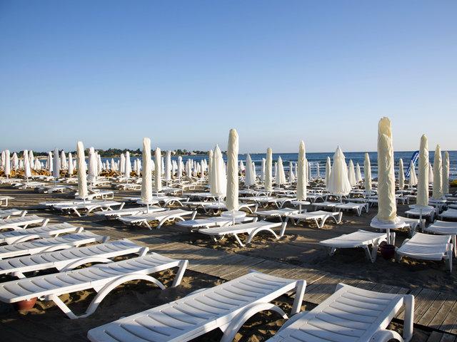 Flugreise nach Antalya im 4* Sun Club Side , 7 Nächte, Direktflug, All Inclusive, Transfers, Zug zum Flug, Holidaycheck: 94%
