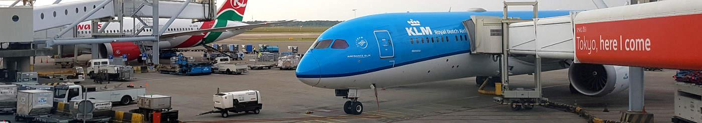 KLM Business Class ab 1296 Euro nach Abu Dhabi, Punta Cana, Quito, Peking, Bangkok