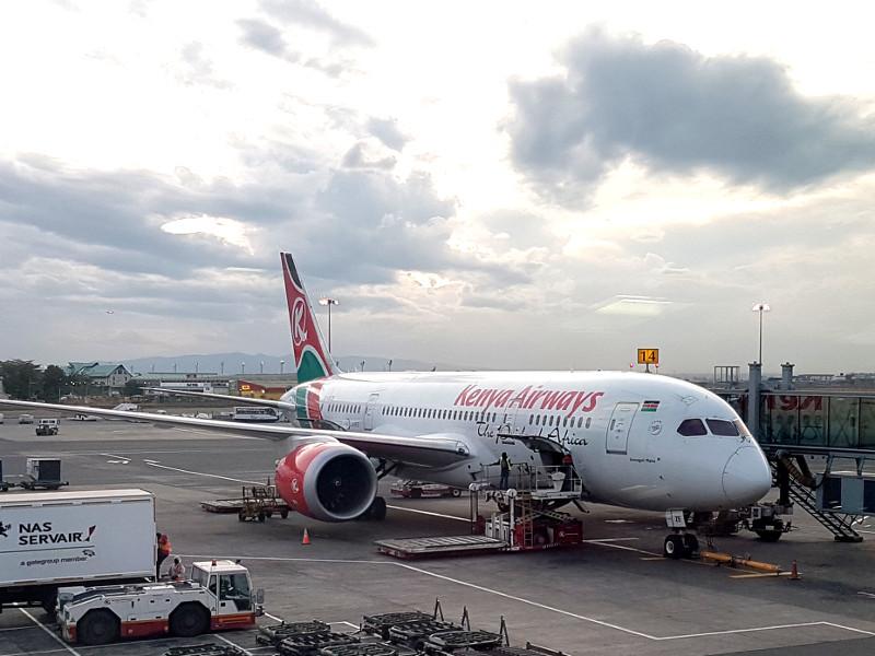 Kenya Airways Erfahrung