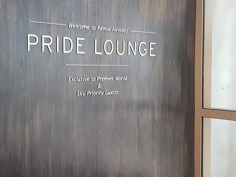 Kenya Airways Business Class Lounge Nairobi