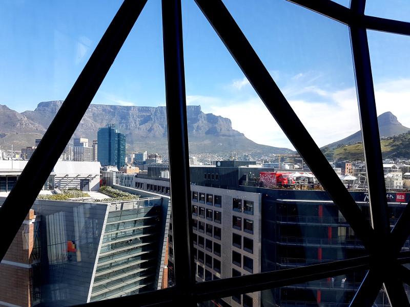 Dachterrasse Silo Hotel Kapstadt Erfahrung