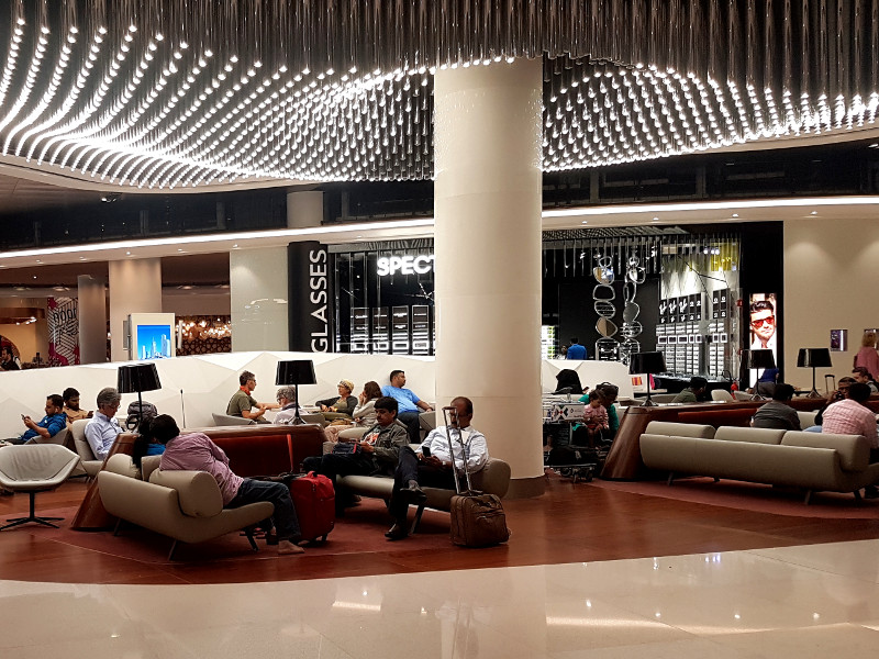 Abflugbereich am Flughafen Muscat, Oman