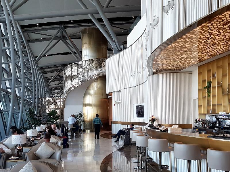Oman Air Business Class Lounge am Flughafen Muscat, Oman