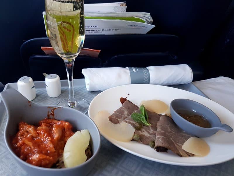 Aeroflot Erfahrung in der Business Class A321