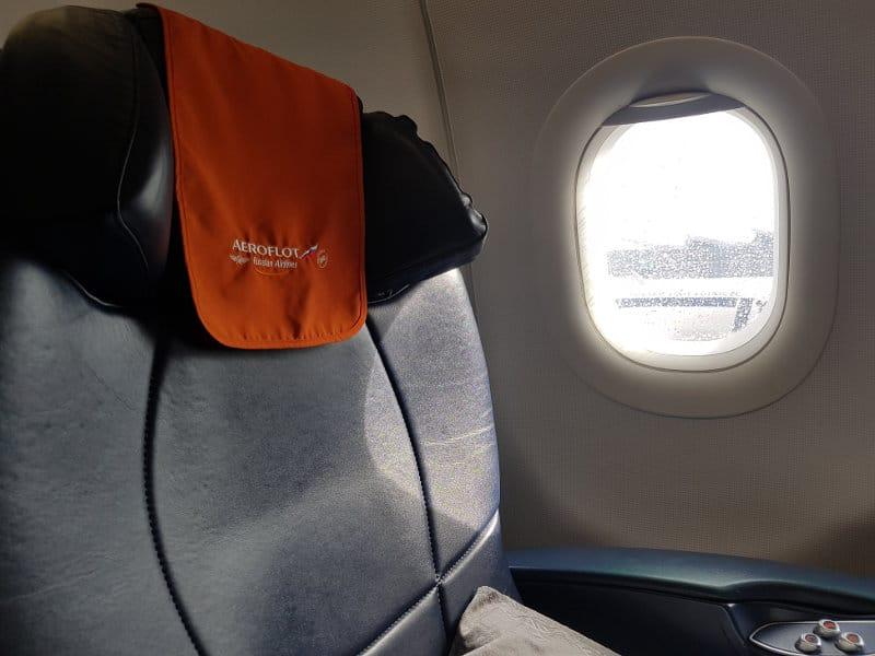 Aeroflot Business Class Sitz A321