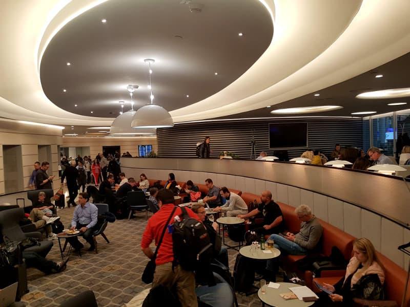 Aeroflot Lounge in Moskau