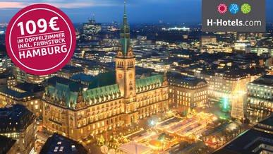 Hotel Deal Hamburg bei H-Hotels