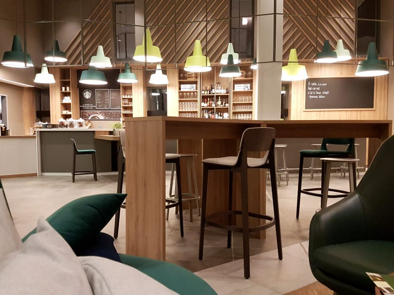 Hotel Holiday Inn Hamburg Hafencity Coffeeshop und Bar