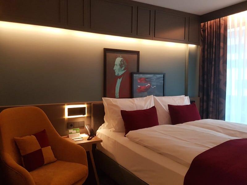Hotel Holiday Inn Hamburg Hafencity Gästezimmer