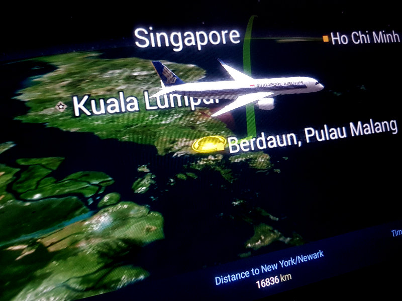 Singapore Airlines - der längste Flug der Welt Singapur - New York