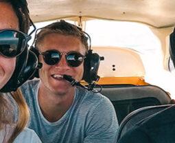 Mitflugbörse wingly - Rundflüge verschenken