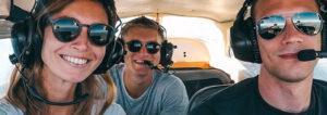 Rundflüge und Ausflüge im Privatflugzeug ab 38 Euro buchen – Verschenken Sie einen einzigartigen Flug