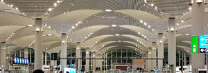 Turkish Airlines Lounges am neuen Flughafen Istanbul