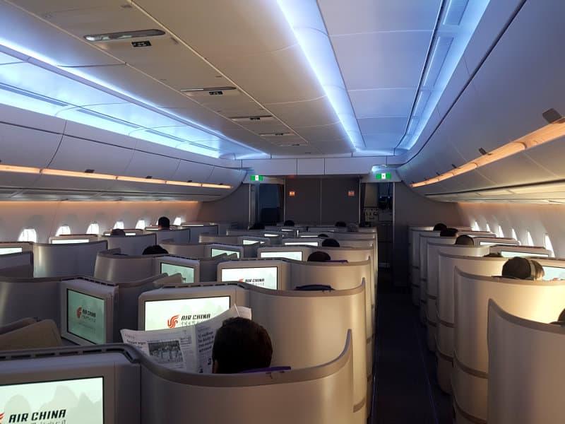 Air China Business Class Bewertung