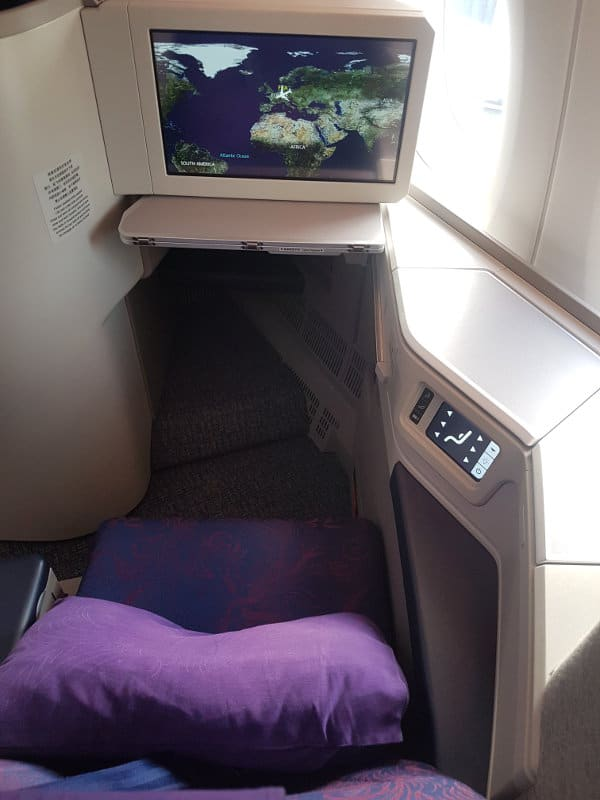 Air China Business Class Erfahrung A350