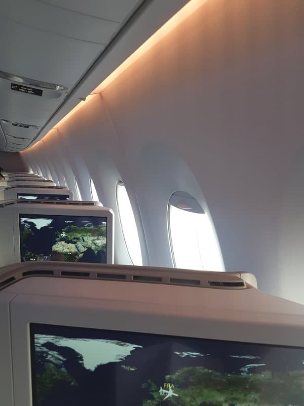 Air China Business Class Moderne Kabine A350