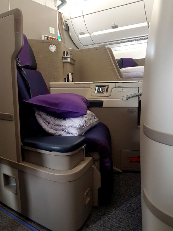 Air China Business Class Sitz A350