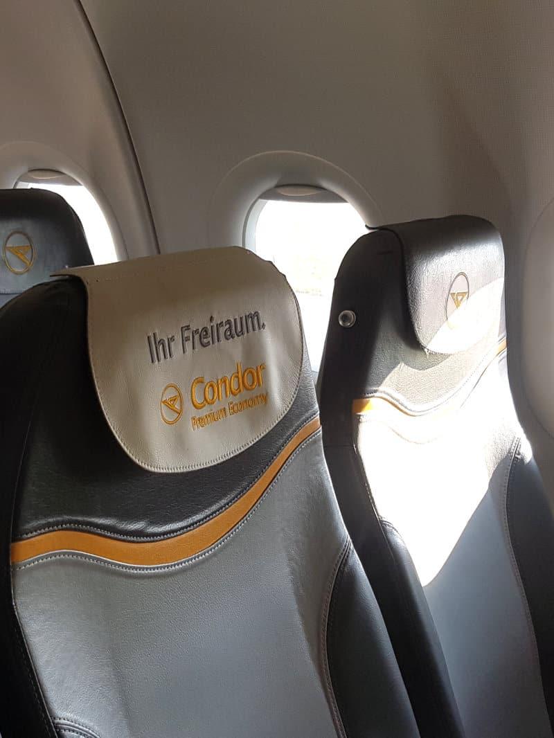 Condor Flug & Optionen