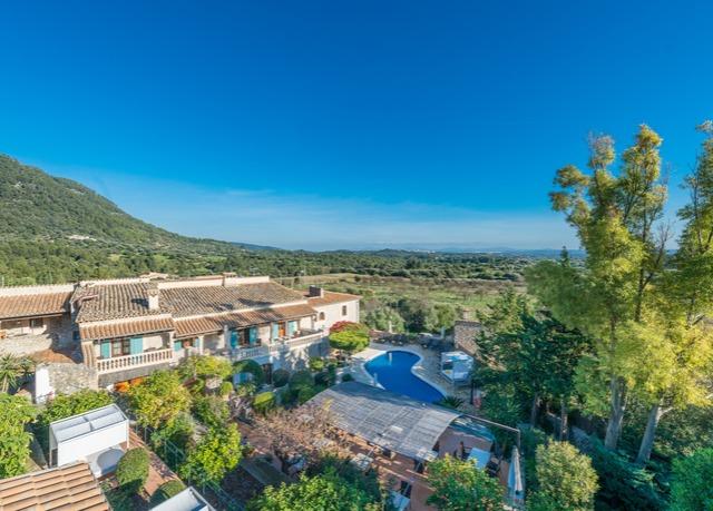 New Can Furios Hotel, Selva, Mallorca, Spanien