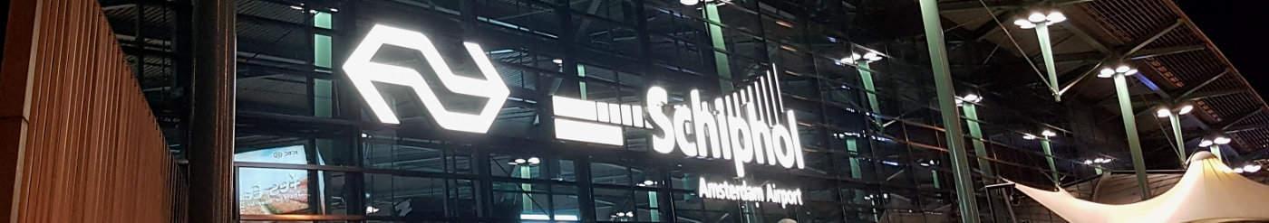 Flughafen Amsterdam Schiphol Urlaub