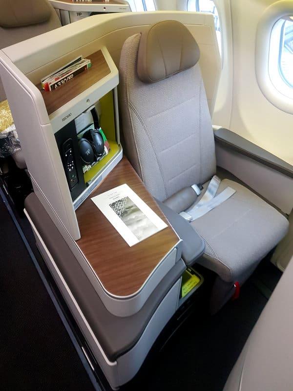 TAP Business Class Sitz A330neo