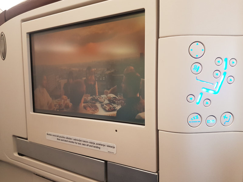 Entertainment System Air Serbia New York