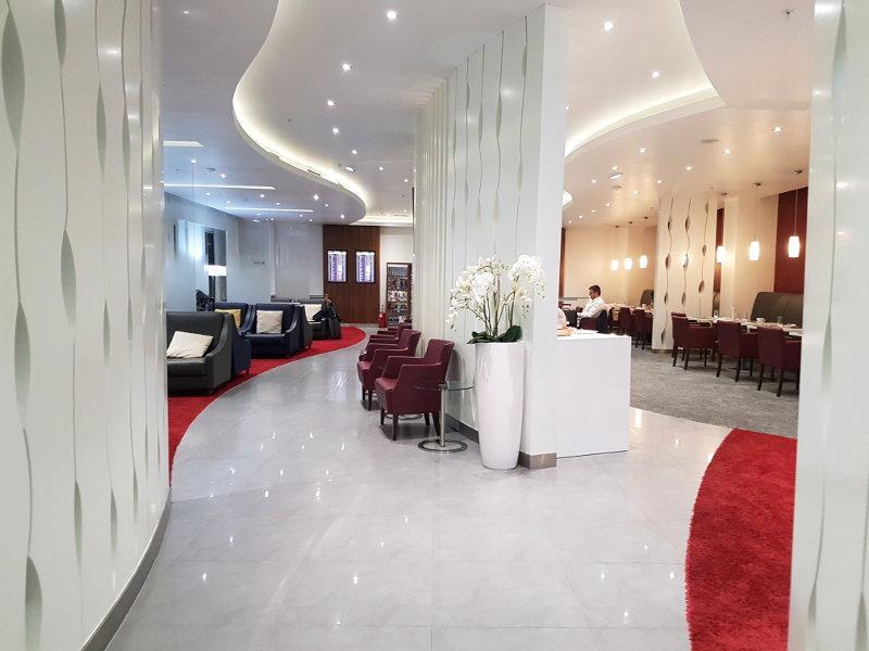 Air Serbia Premium Lounge am Flughafen Belgrad