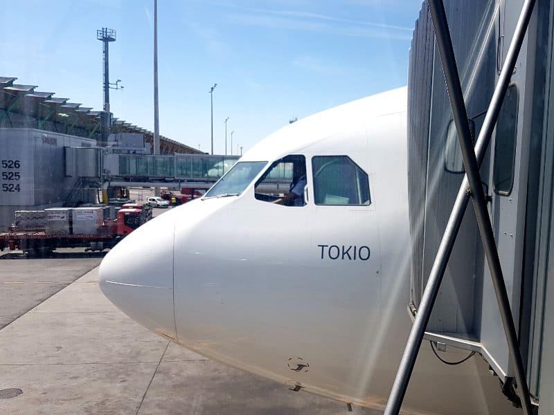 Iberia Flug nach Tokio, Japan