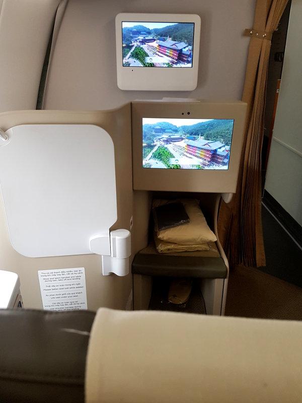 Regionale Business Class bei Vietnam Airlines im Airbus A350