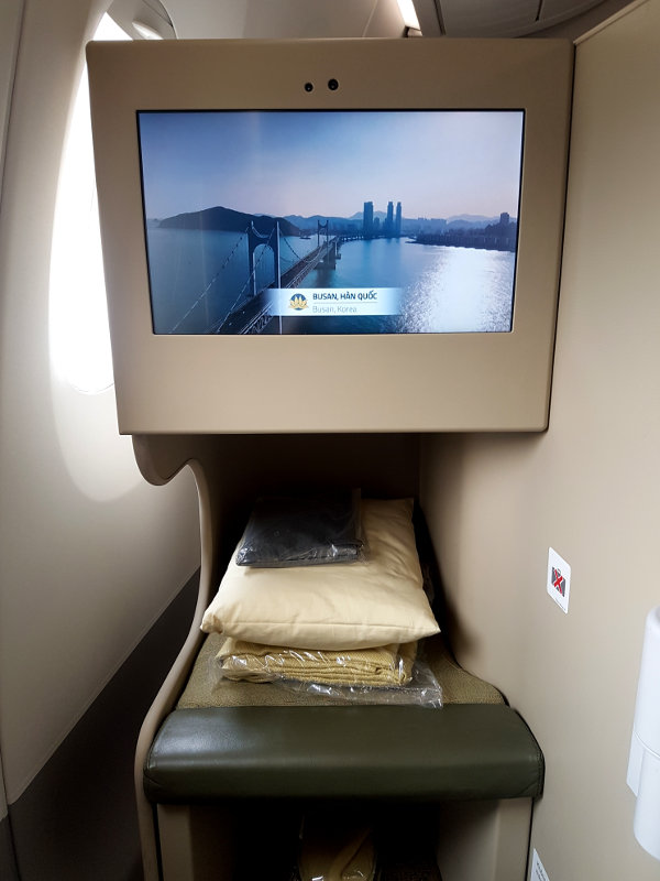 Airbus A350 Regionale Business Class bei Vietnam Airlines