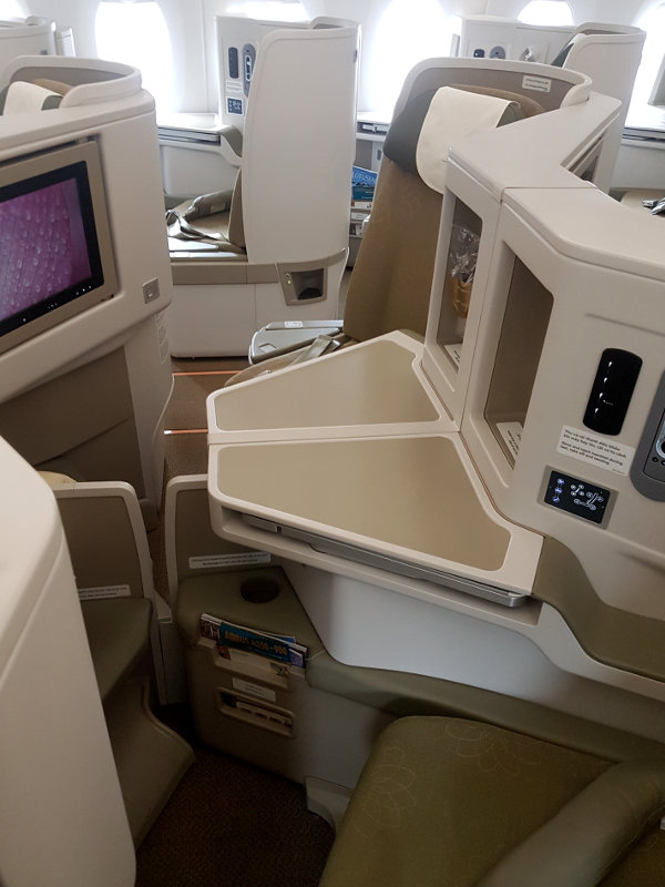 Vietnam Airlines Business Class B787 Dreamliner