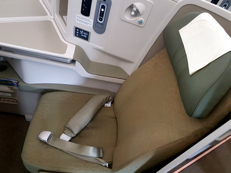 Vietnam Airlines Business Class Sitz