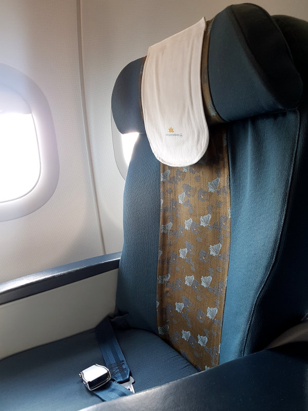 Airbus A321 Business Class Vietnam Airlines