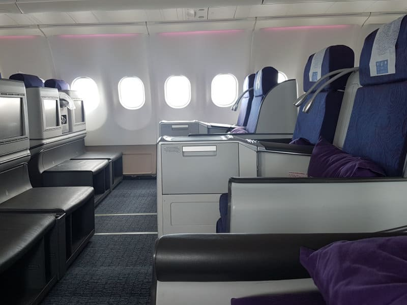 Air China Business Class Sitze A330