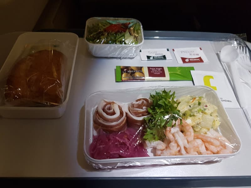 Air China Catering Corona Business Class