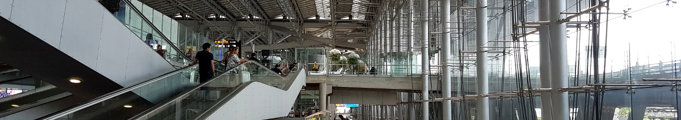 Flughafen Bangkok Urlaub