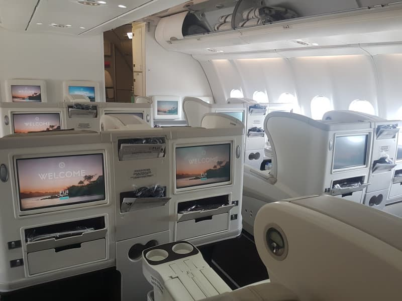 Business Class Sitze im Airbus A330