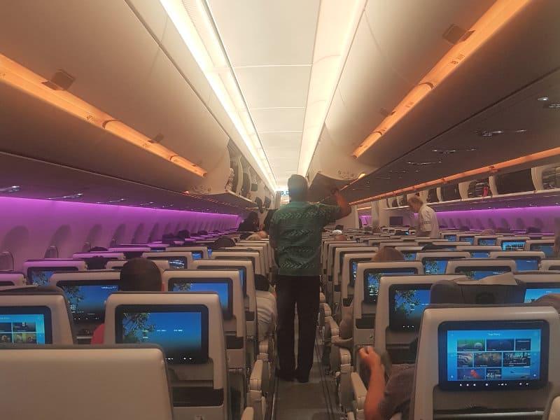 Viel Komfort im Fiji Airbus A350
