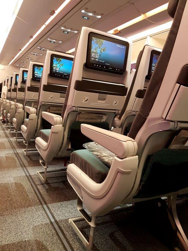 Neues Flugzeug Fiji Airbus A350