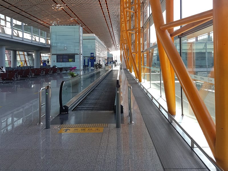 Air China Flughafen Peking Corona