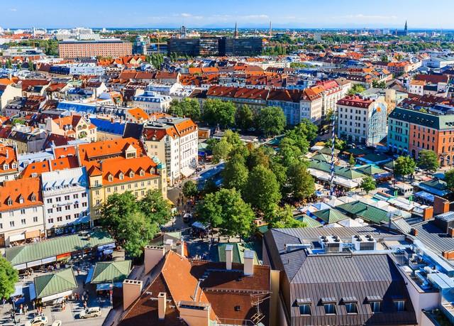 Münchener Flair direkt am Viktualienmarkt, Living Hotel Das Viktualienmarkt, München, Bayern, Deutschland - save 39%