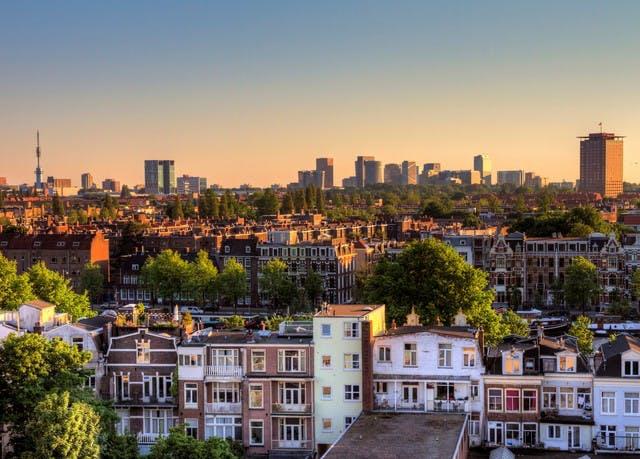 Entspannung über den Dächern Amsterdams - Kostenfrei stornierbar, Leonardo Hotel Amsterdam Rembrandtpark, Amsterdam, Niederlande - save 49%