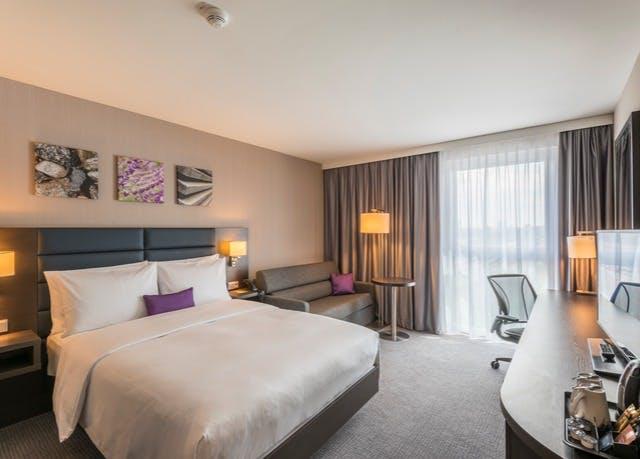 Hilton-Luxus in Münchens Innenstadt - Kostenfrei stornierbar, Hilton Garden Inn Munich City West, München, Bayern, Deutschland - save 24%