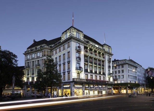 Elegantes Grandhotel an Züricher Topadresse - Kostenfrei stornierbar, Hotel Savoy Baur en Ville, Zürich, Schweiz - save 49%