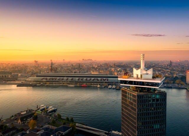 Über den Dächern von Amsterdam - Kostenfrei stornierbar, Sir Adam, Amsterdam, Niederlande - save 50%