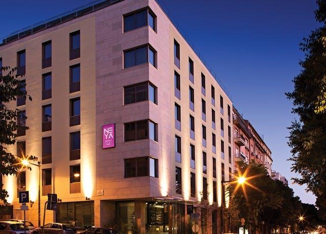 Nachhaltiger Citytrip in Portugals Hauptstadt - Kostenfrei stornierbar, NEYA Lisboa Hotel, Lissabon, Portugal - save 41%
