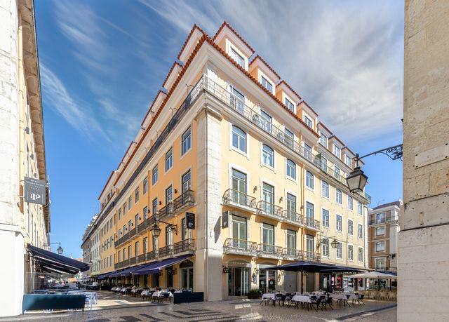 Facettenreicher Citytrip nach Lissabon - Kostenfrei stornierbar, Hotel Santa Justa Lisboa, Lissabon, Portugal - save 49%