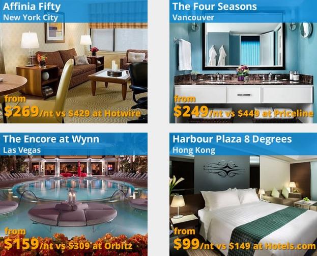 Gutschein Codes für Hotel Buchungen bei Travelpony für United States